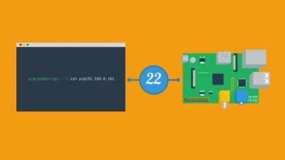 Activer SSH sur la Pi